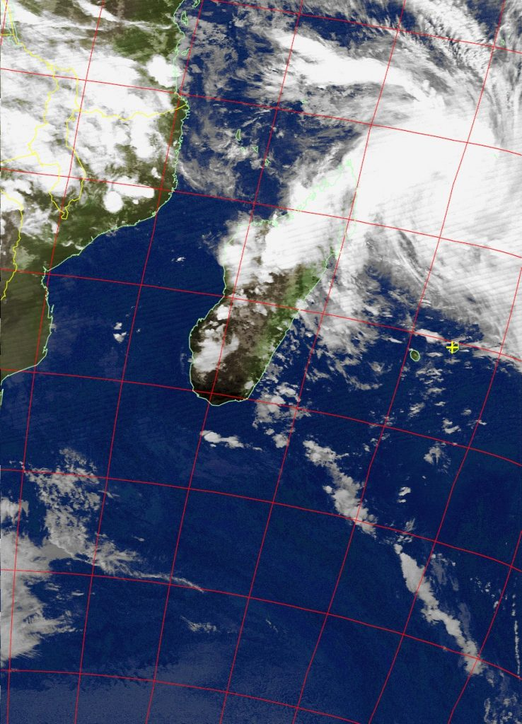 Moderate Tropical Storm Dumazile, Noaa 18 IR 03 Mar 2018 20:26