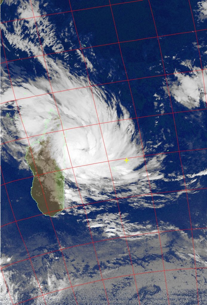 Severe Tropical Storm Dumazile, Noaa 18 IR 04 Mar 2018 07:41