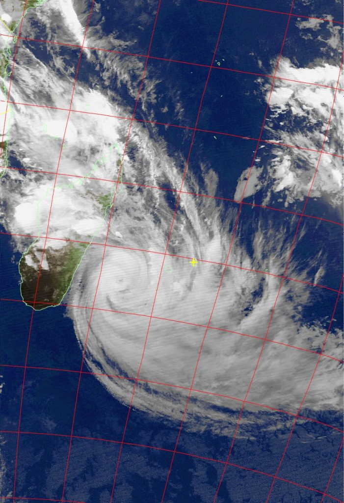 Tropical Cyclone Dumazile, Noaa 18 IR 05 Mar 2018 20:03