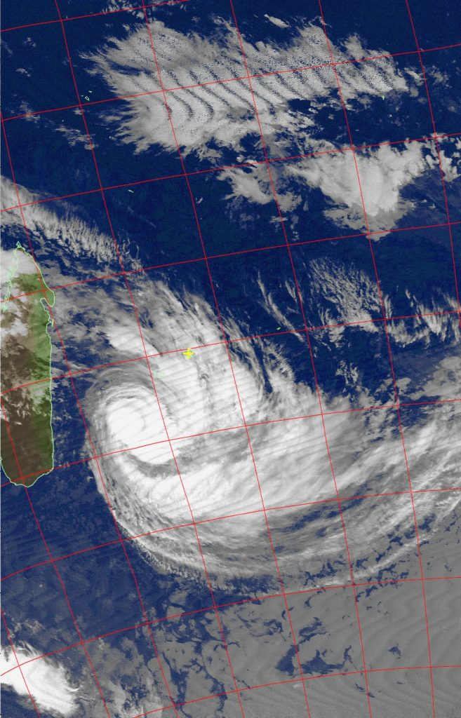 Tropical Cyclone Dumazile, Noaa 18 IR 06 Mar 2018 07:18