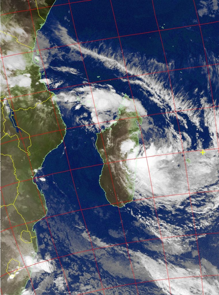Moderate Tropical Storm Eliakim, Noaa 18 IR 18 Mar 2018 08:20
