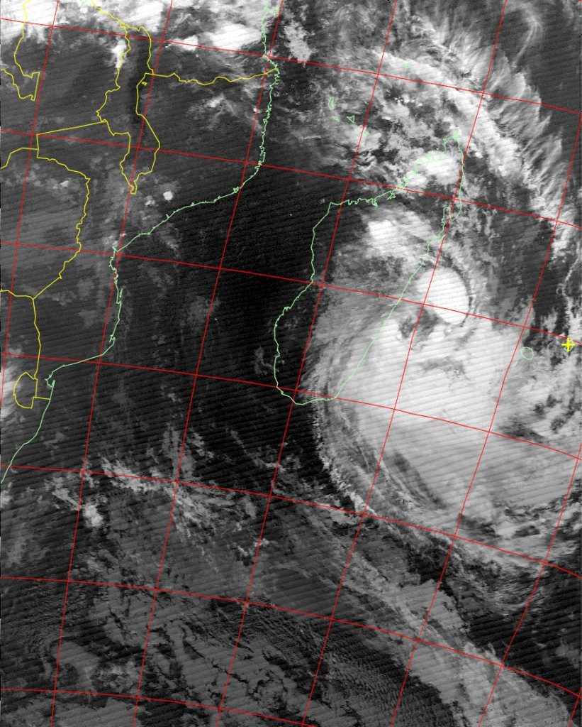 Moderate Tropical Storm Eliakim, Noaa 18 IR 18 Mar 2018 20:53