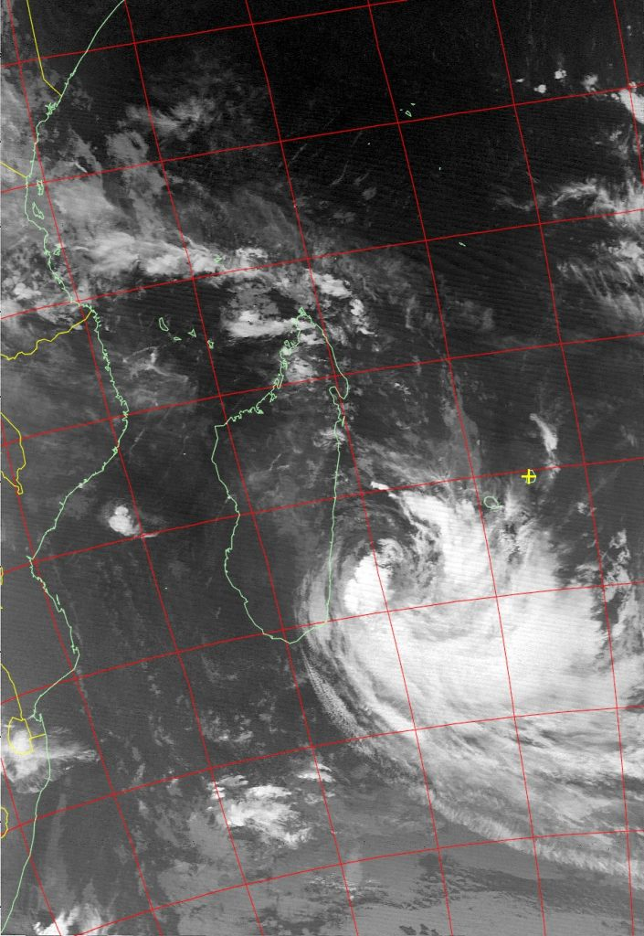 Moderate Tropical Storm Eliakim, Noaa 18 IR 19 Mar 2018 08:08