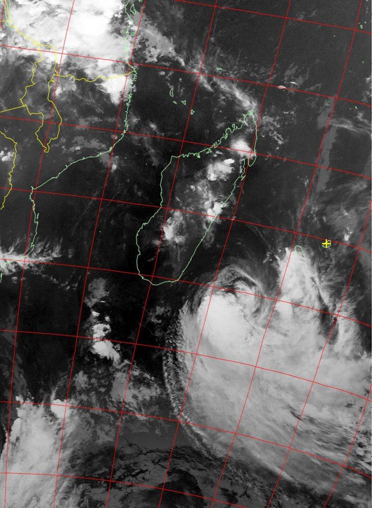 Moderate Tropical Storm Eliakim, Noaa 18 IR 19 Mar 2018 20:41