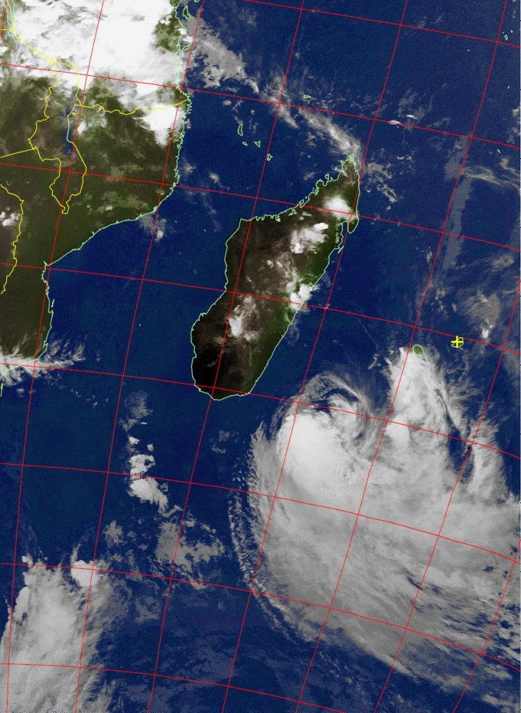 Moderate Tropical Storm Eliakim, Noaa 18 IR 19 Mar 2018 20:41