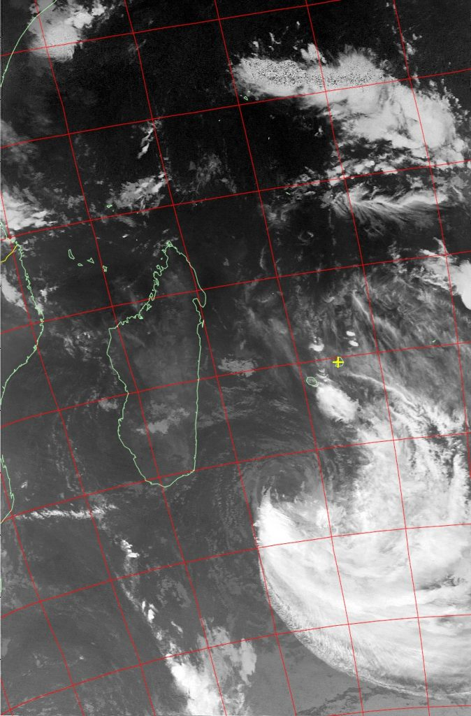 Moderate Tropical Storm Eliakim, Noaa 18 IR 20 Mar 2018 07:56