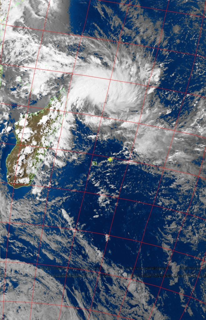 Tropical Depression, Noaa 19 VIS 02 Mar 2018 16:10