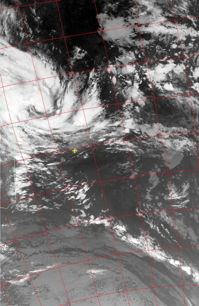 Moderate Tropical Storm Dumazile, Noaa 19 IR 03 Mar 2018 03:25