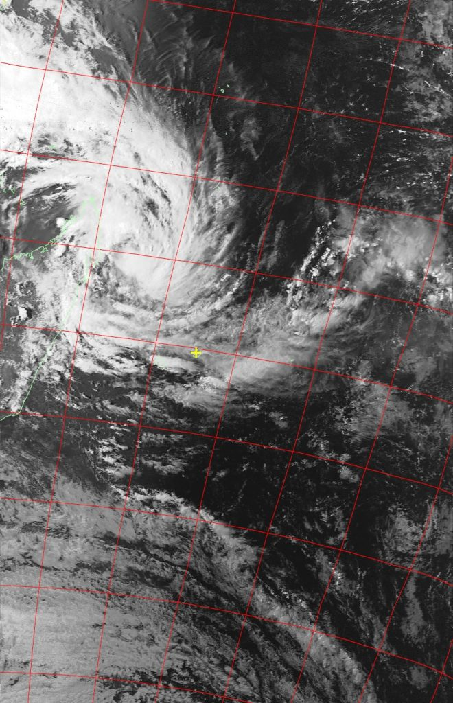 Moderate Tropical Storm Dumazile, Noaa 19 VIS 03 Mar 2018 15:58
