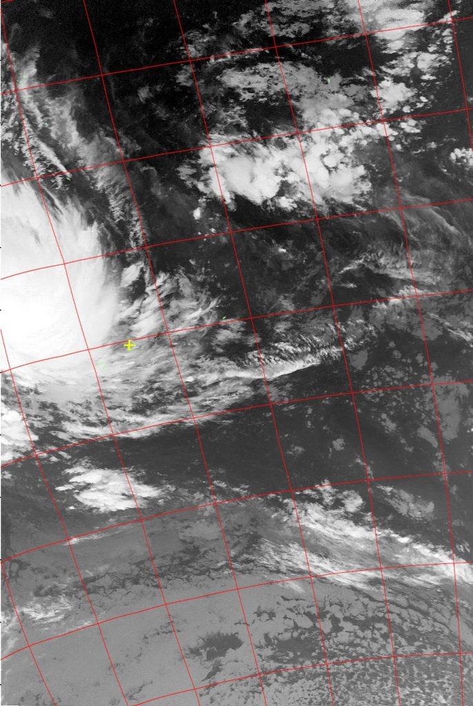 Severe Tropical Storm Dumazile, Noaa 19 IR 04 Mar 2018 03:14