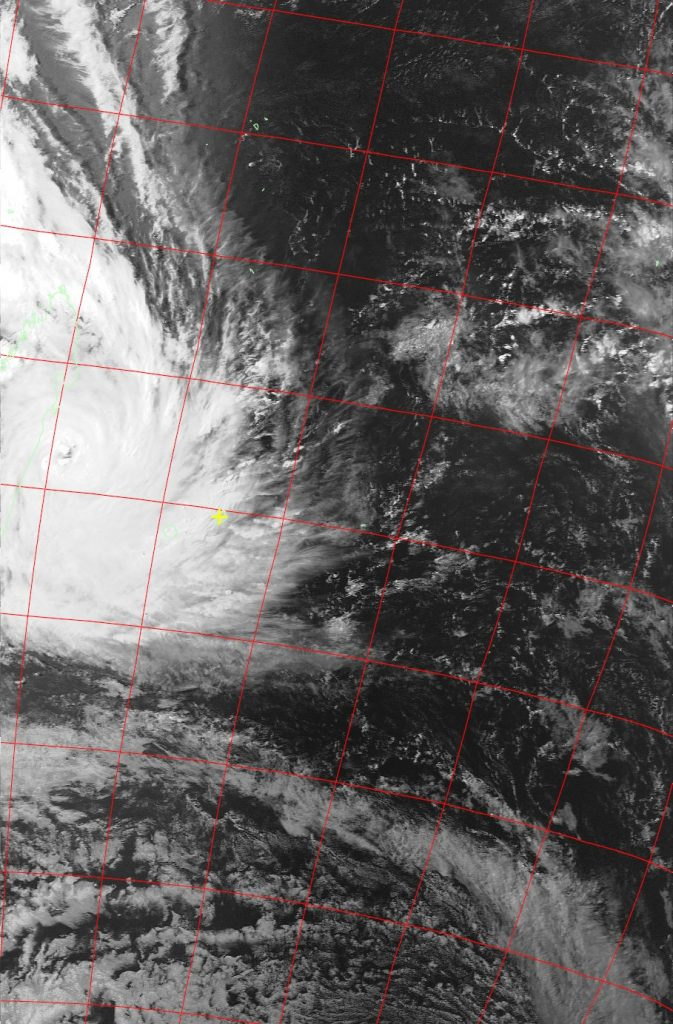 Tropical Cyclone Dumazile, Noaa 19 VIS 04 Mar 2018 15:47
