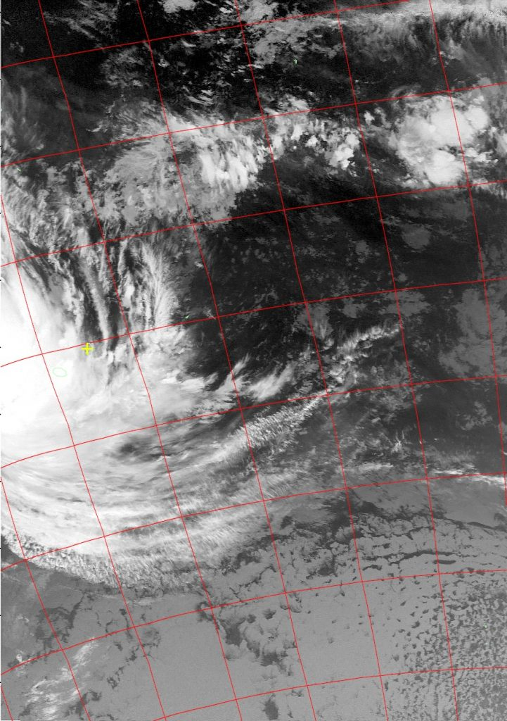 Tropical Cyclone Dumazile, Noaa 19 IR 05 Mar 2018 03:03