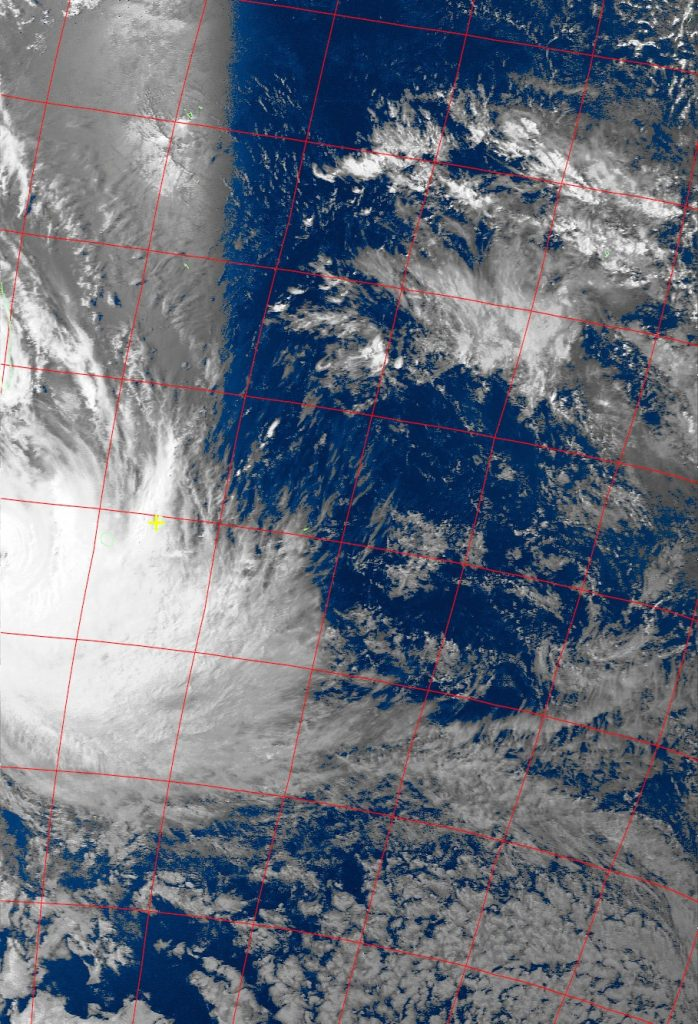 Tropical Cyclone Dumazile, Noaa 19 VIS 05 Mar 2018 15:36