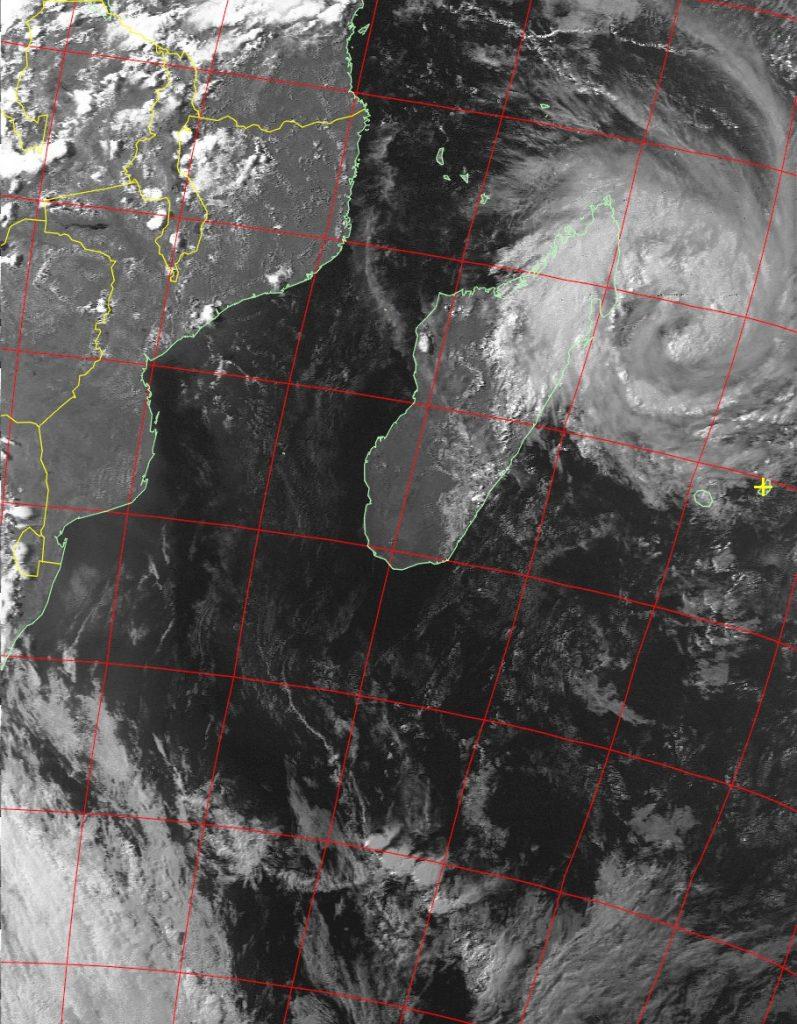 Moderate Tropical Storm Eliakim, Noaa 19 VIS 15 Mar 2018 17:02