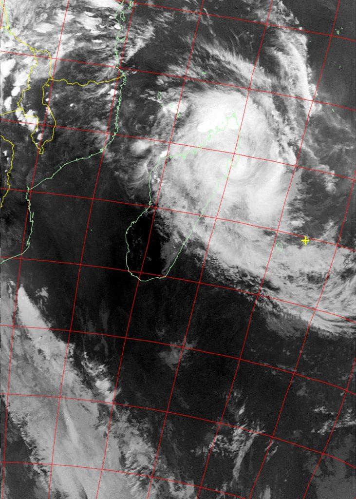 Severe Tropical Storm Eliakim, Noaa 19 VIS 16 Mar 2018 16:50