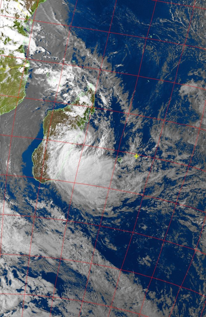 Moderate Tropical Storm Eliakim, Noaa 19 VIS 18 Mar 2018 16:26