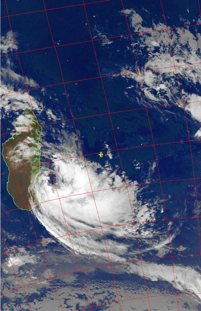 Moderate Tropical Storm Eliakim, Noaa 19 IR 19 Mar 2018 03:41
