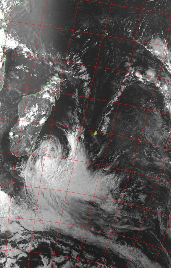 Moderate Tropical Storm Eliakim, Noaa 19 VIS 19 Mar 2018 16:15
