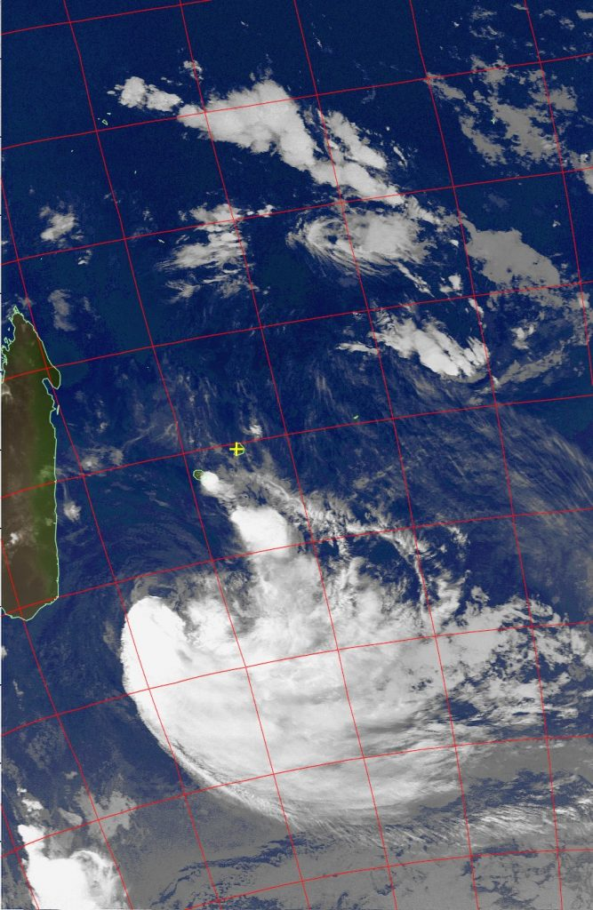 Moderate Tropical Storm Eliakim, Noaa 19 IR 20 Mar 2018 03:30