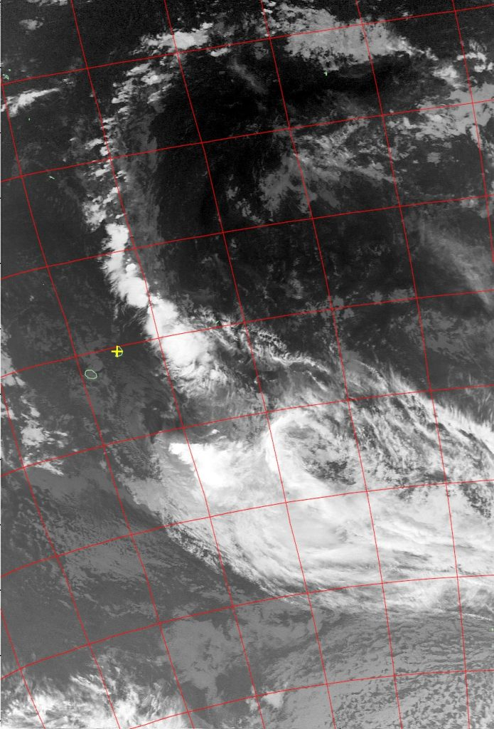 EX Tropical Storm Fakir, Noaa 19 IR 25 Apr 2018 03:17